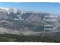 akdağdan bolkar dağları ve karınca dağı