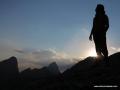 gün batımında silüet