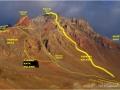 erciyes dağının rotaları