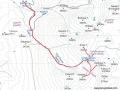 sokullupınardan emler,kızılkaya ve karasay haritası